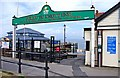 SD3348 : Entrance to Knott End Ferry, Esplanade, Fleetwood by P L Chadwick