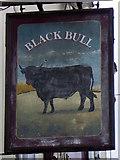 NZ3404 : Sign for the Black Bull by Maigheach-gheal