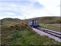 SH7783 : Great Orme Tramway by David Dixon