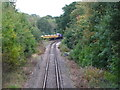TQ4468 : Railway line northwest of St. Mary Cray Junction by Mike Quinn