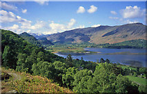 NY2619 : Southern end of Derwent Water by Trevor Rickard