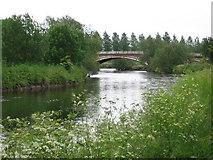 SK1814 : Alrewas - River Tame by Dave Bevis