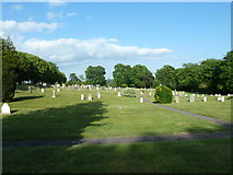 SU5707 : Wickham Road Cemetery (11) by Basher Eyre