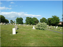 SU5707 : Wickham Road Cemetery (14) by Basher Eyre