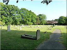 SU5707 : Wickham Road Cemetery (21) by Basher Eyre