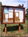 TG0321 : St.Thomas Church Notice Board by Adrian Cable