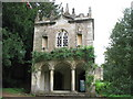 ST8770 : Corsham Court gothic Bath House by Paul Brooker