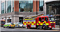 J3373 : Fire appliance, Belfast by Albert Bridge