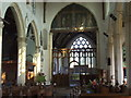 TG3818 : Interior of St. Catherine's, Ludham, Norfolk by nick macneill