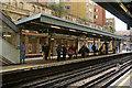 TQ3281 : Platforms 2 & 3 Barbican Station by Julian Osley