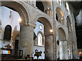 TL3800 : Waltham Abbey church: nave arches by Stephen Craven