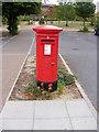 TM3353 : Walnut Tree Avenue Postbox by Geographer