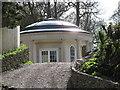 SD3686 : Newby Bridge Hotel Rotunda by Paul Brooker