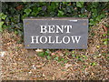 TM3050 : Bent Hollow Sign by Adrian Cable