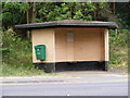 TM3050 : Bus Shelter on the A1152 Orford Road by Adrian Cable