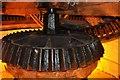 TF1443 : Heckinton Windmill - Wallower by Ashley Dace