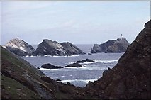 HP5917 : View to Muckle Flugga from Clingra Stack, Hermaness by Mike Pennington