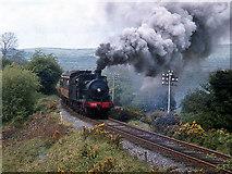 R2230 : Steam train on Barnagh bank by The Carlisle Kid