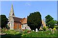SP7026 : St. Michael's Church, Steeple Claydon by Cameraman