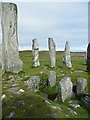 NB2133 : The Chambered Cairn at Calanais by Anne Burgess