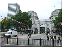 TQ2780 : Marble Arch by Malc McDonald