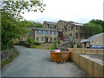 SD9321 : Birks Mill, Birks Lane, Walsden by Humphrey Bolton