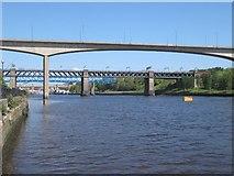 NZ2463 : Bridge on the Tyne by Bill Nicholls