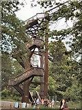 TQ1876 : Xtrata treetop walk by Paul Gillett