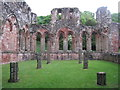 SD2171 : Furness Abbey: Chapter House by Jonathan Thacker