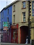 M3799 : Junction of Main Street and Market Street, Swinford by Pamela Norrington