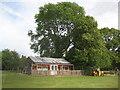 TL3852 : Harlton: The cricket pavilion by Nigel Cox
