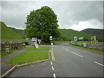 SK1482 : Winnats Road (left) from Buxton Road, Castleton by Ian S