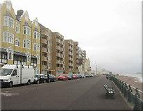 TQ2804 : King's Esplanade - Hove by Sandy B