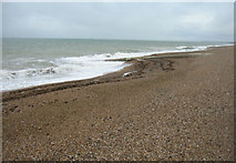 TQ2804 : Hove beach on a grey day by Sandy B