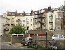 TQ2804 : Rear view of homes in St Aubyns by Sandy B
