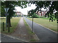 TQ2874 : Cycle route on Clapham Common by Malc McDonald