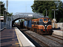 N9831 : Freight train at Hazelhatch station by The Carlisle Kid