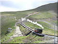 SH6056 : Snowdon Mountain Railway. by Derek Voller