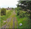 SJ9292 : Lines to Woodley by Gerald England