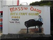 B9130 : Mural, Maggie Dans by Kenneth  Allen