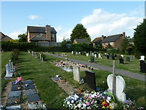 SU5707 : Wickham Road Cemetery (28) by Basher Eyre