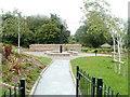SO2802 : Trevethin Community Garden and beacon, Pontypool by Jaggery