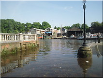 TQ1673 : Twickenham Riverside by Marathon