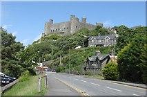 SH5831 : Harlech Castle by Derek Voller