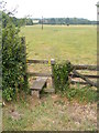 TM2443 : Stile of Footpath to the A12 by Adrian Cable