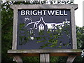 TM2443 : Brightwell Village sign by Adrian Cable