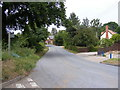 TM2442 : Main Road, Bucklesham & the footpath to Steel's Farm by Adrian Cable