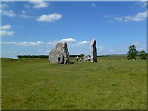 SU1070 : Avebury, The Cove by Mike Faherty