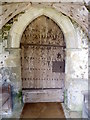 SU3020 : South porch, The Church of St Margaret of Antioch by Maigheach-gheal