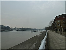 TQ2575 : Putney Bridge to Parsons Green and back via Hurlingham (170) by Basher Eyre